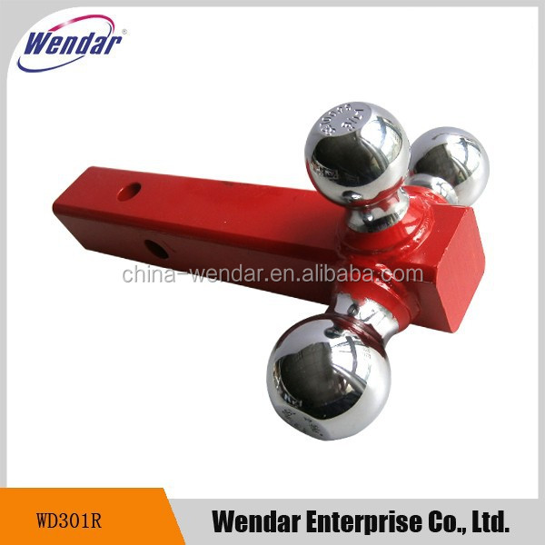 High Quality Triball Ball Mount, Triple Ball Trailer Hitch Ball Mount
