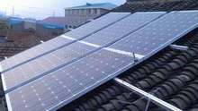 Roof solar tracker for hong use solar tracker system
