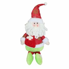 Christmas Lovely Doll Decoration Star Snowman/Santa Plush Doll Child Baby Toy