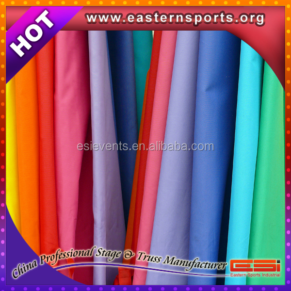 Hot sale !!! ESI famous woven fabric, ESI electric curtain for wedding