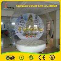 Giant Inflatable Snow Globe , Christmas Inflatable snow globe