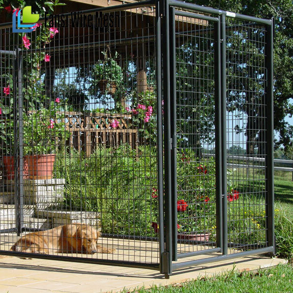 China supplier - Chain link wire dog fence / outdoor large portable dog cage / dog kennel