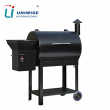 Portable Charcoal Royal Wood Pellet BBQ Grill Smoker for Patio Outdoor