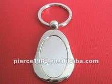 2012 New Arrival Metal Keychain could OEM logo