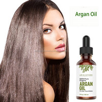 Pure natural 100% argan oil for skin and hair care