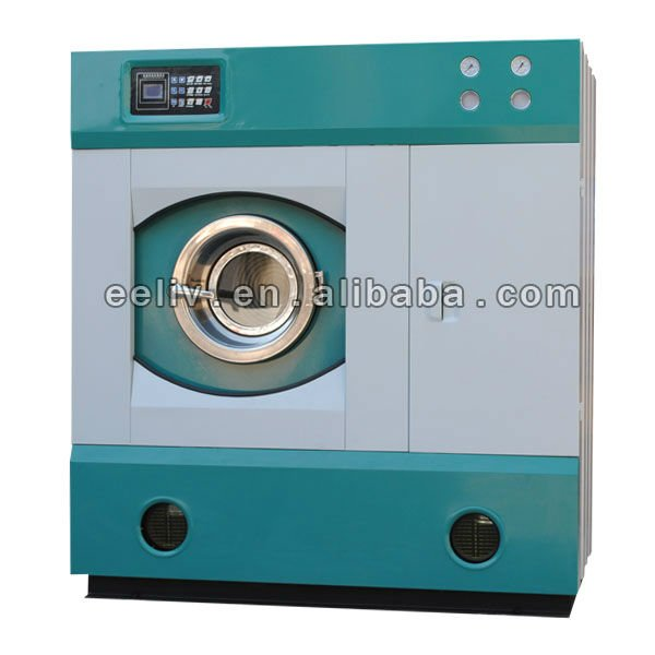 hydrocarbon solvent with 5 sets wash procedures laundry system