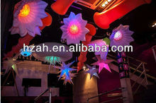 Artificial Small Inflatable Flowers with LED Light