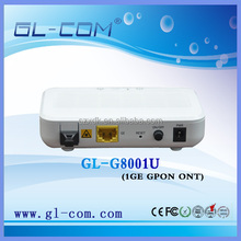 GL-COM XDK GPON ONT 1GE Port Communication Network Equipment Huawei HG8012H FTTH CATV ONT Compatible with