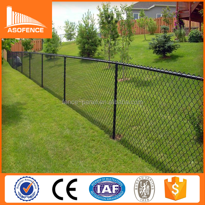 Canada best price cyclone fence/chain-link fence for sale