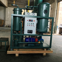 100L/min Oil Purification System, Oil Refinery/Oil Filter Machine for Steam Turbine Oil