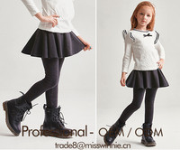 2017 Designer style children kids girl summer line wools pantsklrt culottes sling dress factory