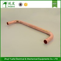 Forged 180 degree long radius copper elbow u bend