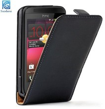 Mix Colors for HTC Desire 200 Supper Slim Flip Leather Case Cover