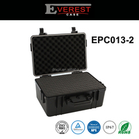 "Storage Carry Case for Sensitive Equipment and Valuable Sample, Waterproof, Shockproof, 4""x3""x2"" Storage Space with Foam Pads"