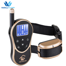 2018 New Petdiary WT774 Rechargeable IPX6 Waterproof 660 Yards Electric Remote Controlled Dog Training Shock Collar for dog