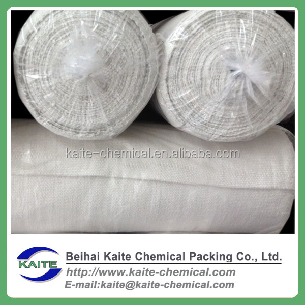 Heat insulation ceramic fiber clothing with wire for heat pipe