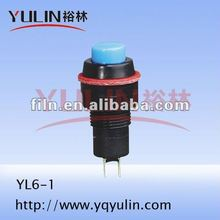 YL6-1 novelty plastic ignition push start button momentary