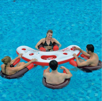 Water equipment Inflatable pool bar water float tube