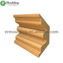 Widely Used interior decoration Wooden pine moulding