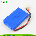 Rechargeable 7.4V 600mAh lithium polymer lipo battery batteries for electronics