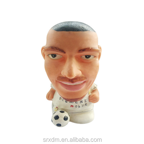 new design custom famous soccer player names vinyl toy manufacturers