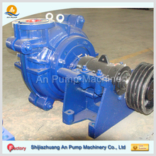 electric horizontal material sealing single suction mud slurry pump