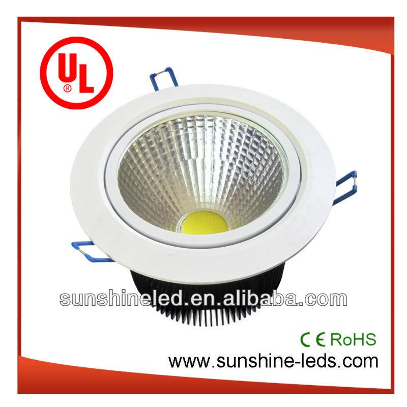 high quality Epistar cob CE RoHS SAA UL 6w 10w 15w 20w 25w 30w led g24 2 pin downlights