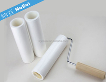 Factory supplier Peelable sticky dust roller and tacky roller for cleaning