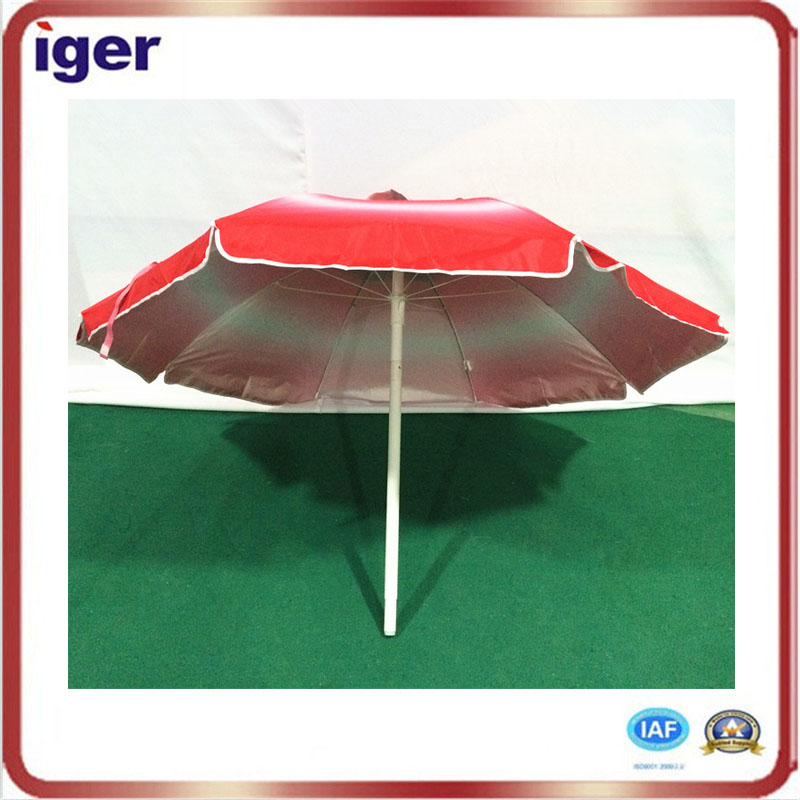 sun protector solid color outdoor beach or swimming pool umbrella