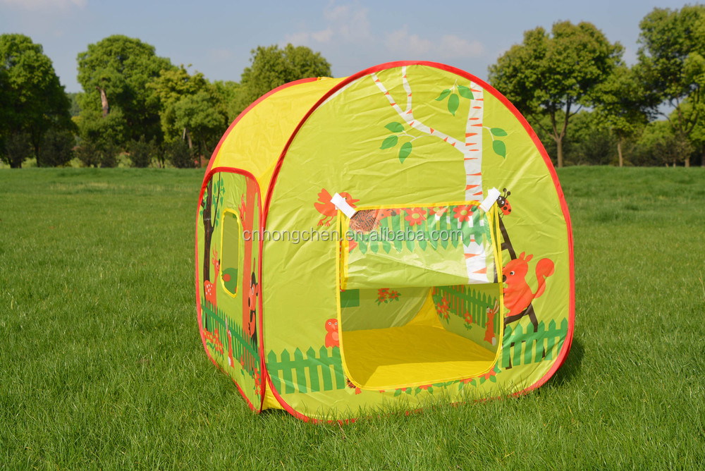 New design folding pop up play tent children play house tent