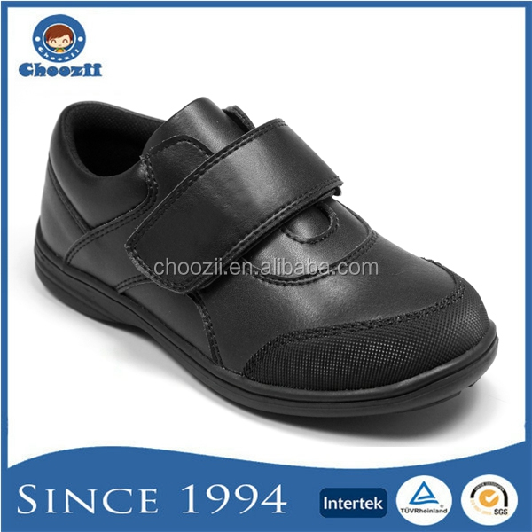 Choozii New Style JP-1412 Boys Leather Sport Shoes in Black Color