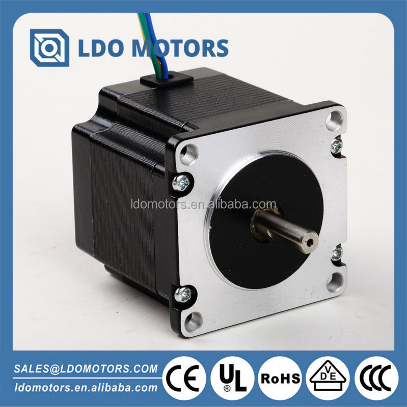 57mm electric stepper motor, two phase, 0.9 degree