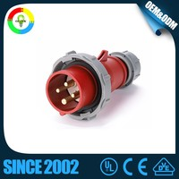 IP67 Watertight and dustproof heavy industry big current plug and socket