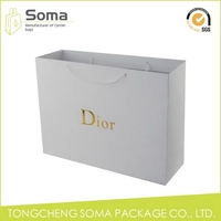 Elegant appearance stylish new tote paper shopping bag