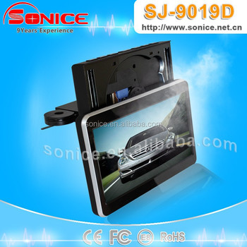 SONICE SJ-9019D Slim Design 9 inch TFT LCD Headrest car DVD for Mazada 6