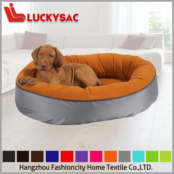 Colorful High quality polyester fabric dog bed pet sleeping nest
