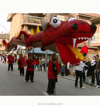 celebrations large outdoor decoration inflatable red dragon