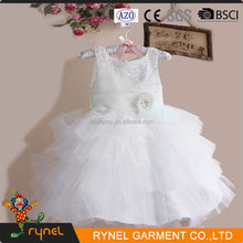 PGCC3573 The most beautiful flower girl dresses festival party frock girl dress