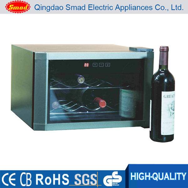 8 Bottles Thermo-electric Red Wine Cooler Chiller,Refrigerated Wine Display