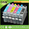 6 color Ciss cartridge for Epson Stylus Photo R210 R230 R310 Bulk ink cartridge with Auto Reset Chip