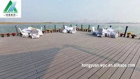 wood plastic synthetic outdoor laminated flooring