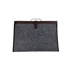 Trendy Concise Style wool felt 15.6 laptop bag cases