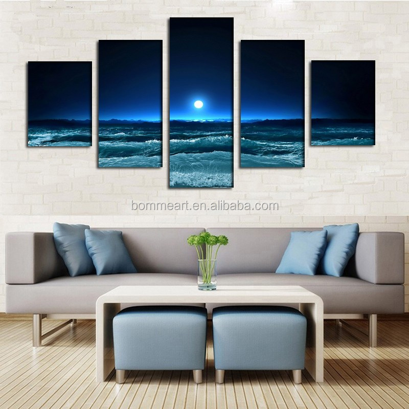 Now product print Painting Wall Art Decor Canvas Picture Framed Print On Canvas Wholesales