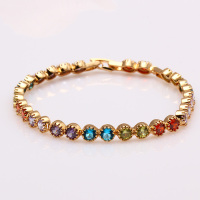 72274 Best Hot Sale Xuping Fashion Turkish Jewelry Charm Bracelet with 18K Gold Plated