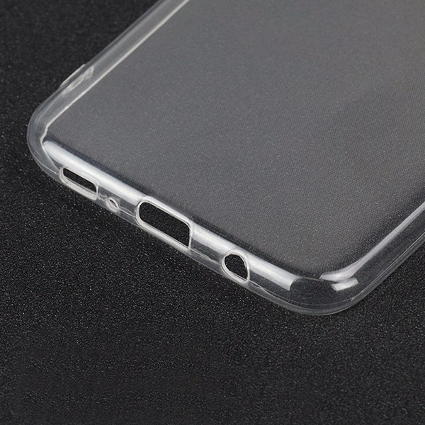 Soft mobile phone case for galaxy S8 transparent tpu back cover
