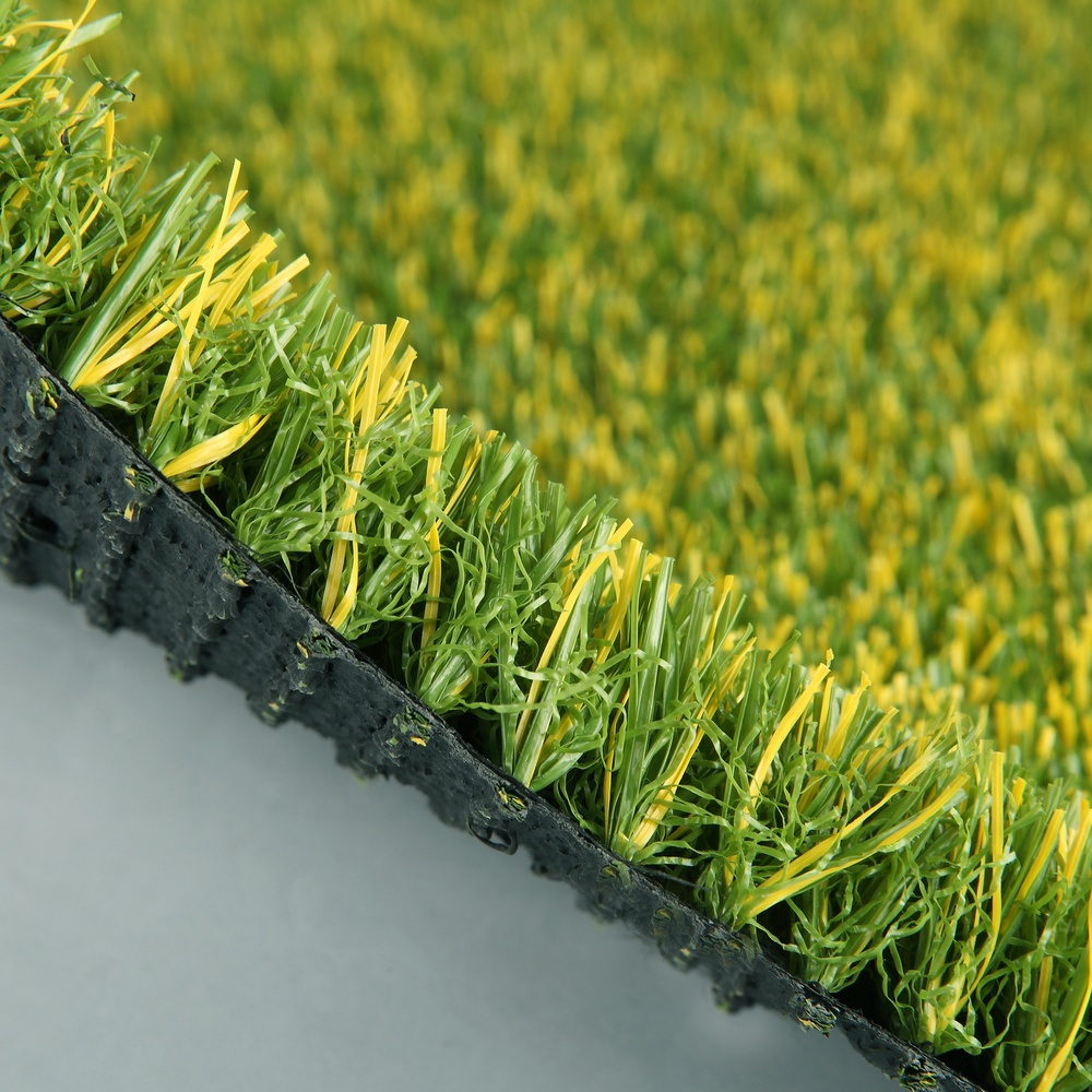 PPE material artificial lawn plastic landscaping grass with fireproof test
