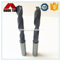 Cutting tools for plastic solid carbide twist drill bit