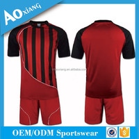 Custom make club team sporty dry fit soccer uniform sublimated for member