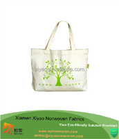 high quality tree customized drawstring bag cotton bag for shopping