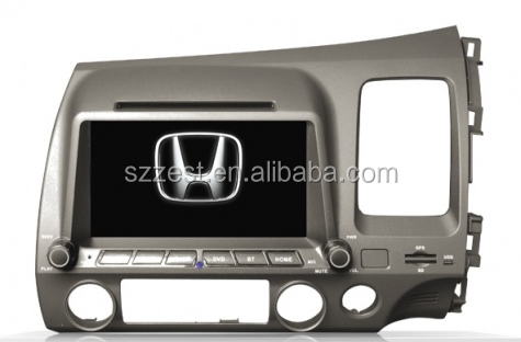 For honda civic Car dvd gps 2 din 2006-2011 (right hand drive) ZT-H7032
